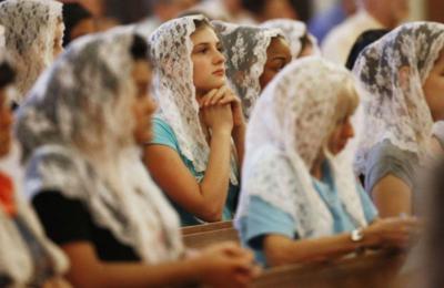 The purpose behind the church hat is more spiritual than just a new Fashion sense